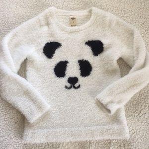 Oshkosh panda 🐼 fuzzy sweater
